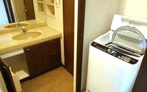 洗面 洗濯機